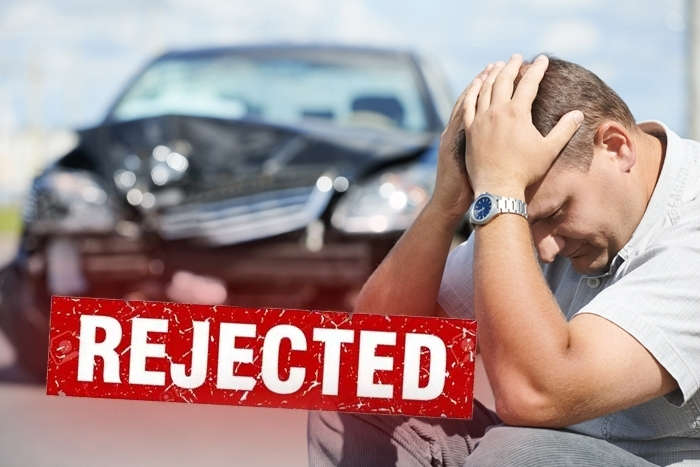 Rejected personal injury case